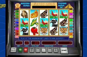 Игровой автомат Aztec Gold от Вулкан 777