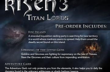 Три DLC к Risen 3 уже в Steam