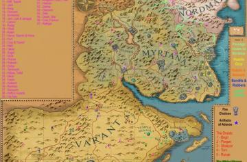 Готика 3 Карта сундуков