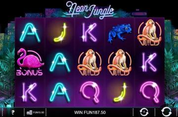 Игровой слот Neon Jungle от Вулкан