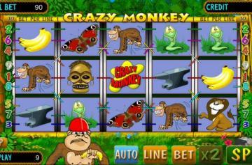Описание игровых автоматов Crazy Monkey