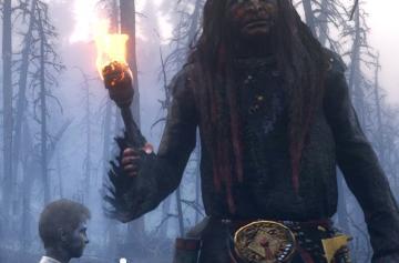 ВRed Dead Redemption 2нашли гигантских загадочных существ и монстров