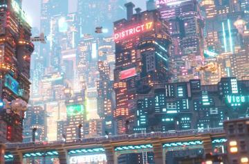 Город Cyberpunk 2077 показали в Minecraft и взорвали интернет