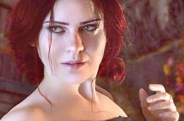 Трисс в «Ведьмак 3» новым лицом удивила фанатов