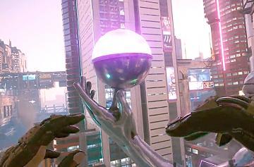 Cyberpunk 2077 летать и взлетать можно