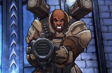 Quake Champions - в игре скоро появится Keel из Quake 3: Arena