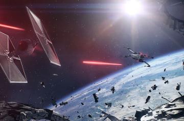 Gamescom 2017: Геймплейная демонстрация и новые подробности космических сражений в Star Wars: Battlefront II