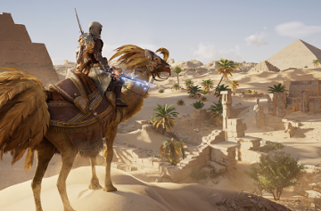 Assassin's Creed: Origins - Ubisoft добавила в игру контент из Final Fantasy XV