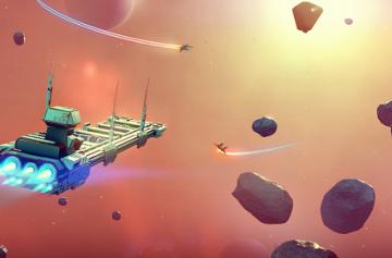 No Man's Sky - космический симулятор Hello Games стартовал на первом месте недельного чарта Steam
