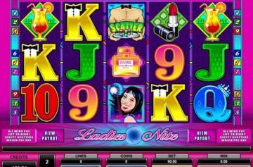 Интересные черты аппарата Ladies Nite из казино Адмирал