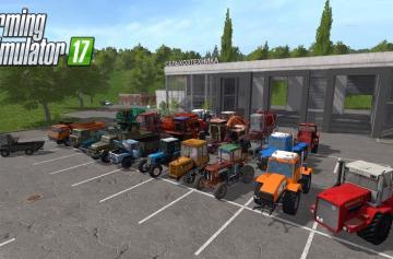 Одни из самых популярных модов для игры Farming Simulator 2017