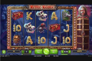 Ключевые детали гаминатора Mythic Maiden из Джой Казино
