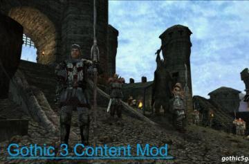 Gothic 3 Content Mod 2.6