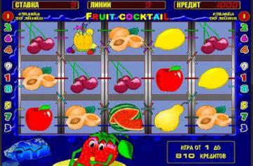 Правила бонусной игры автомата Fruit Cocktail из клуба Вулкан